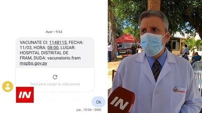 DR. RICARDO PONT, ÚNICO CIRUJANO EN HOSPITAL RESPIRATORIO DE FRAM RECIBIÓ LA VACUNA CONTRA EL COVID.