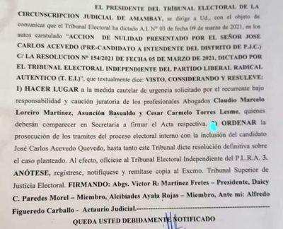 Pagaron 10 mil dólares a juez Víctor Martínez para inscribir candidatura de José C Acevedo, según el abogado Echeverria