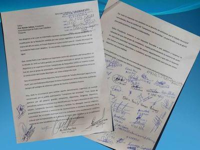 """Indignados emitieron nota a la junta donde piden revertir el cambio de nombre del estadio Municipal y sugieren el nombre de """"Estadio Campeones de Amambay"""""""