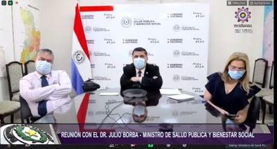Borba pide a Diputados apoyo para restricciones más severas