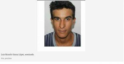 Asesinan a hermano del hombre fuerte de Jarvis Pavão