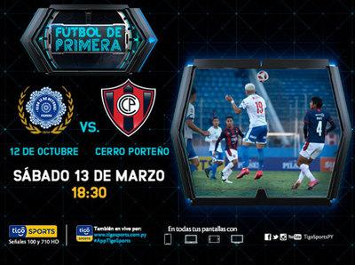 Cerro Porteño va a Itauguá con ganas de sumarse a los de arriba