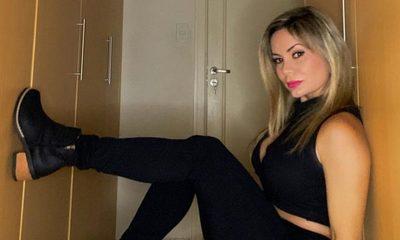 Dahiana Bresanovich en cama, con Covid positivo