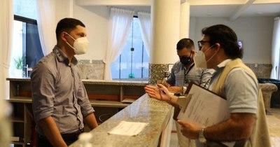 La Nación / Senatur verificó cumplimiento de protocolo sanitario en 20 hoteles del interior