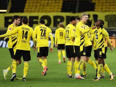 El Dortmund gana, Haaland no marca