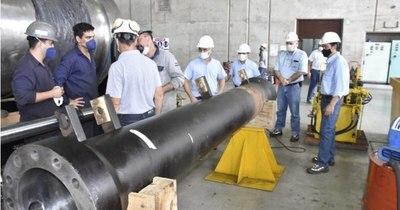 La Nación / Yacyretá: avanzan trabajos de rehabilitación de la esclusa de navegación