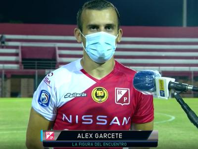 Alex Garcete habla tras el empate contra Nacional