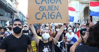 La Nación / Más de una semana en las calles: Los rostros de los reclamos que no cesan