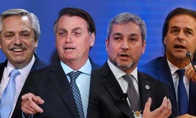 Cumbre de presidentes por 30 años del Mercosur será virtual por el Covid-19