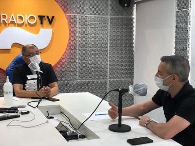 """Centurión sobre gestión de intendente de Asunción: """"No hemos visto cambios, es más de lo mismo"""""""