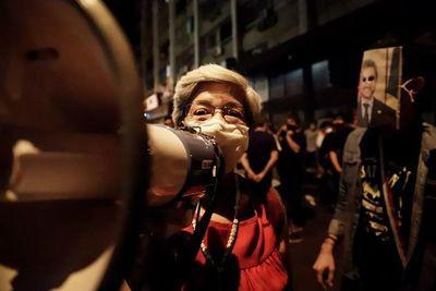Si bien con menos participación, se cumplió el 10° día de protestas contra Marito