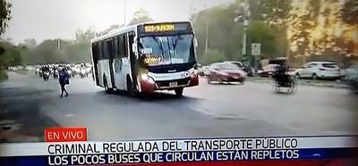 """Mafia del transporte: Califican de """"criminal"""" la regulada de buses por suba del pasaje"""