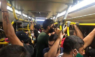 Criminal regulada: ¿Quién controla hacinamiento en los buses?