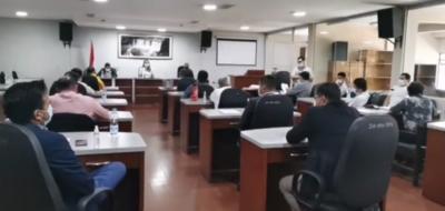 Cierran Junta Departamental por caso confirmado de Covid-19