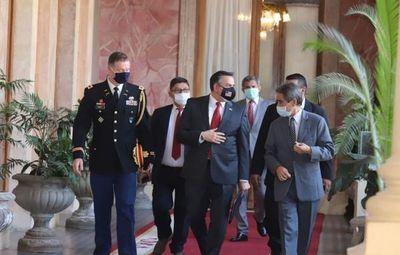 Presidente recibió en Palacio a encargado de negocios de los Estados Unidos