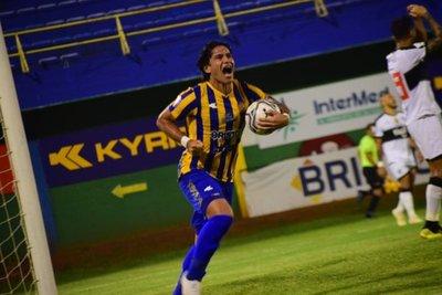 "´Memo´ Beltrán: ""Volvió la racha, la cuotita de gol contra Olimpia"""