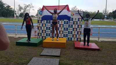 Ana Paula Argüello gana medalla de oro