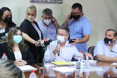 Diputados del PLRA expusieron borrador del libelo acusatorio