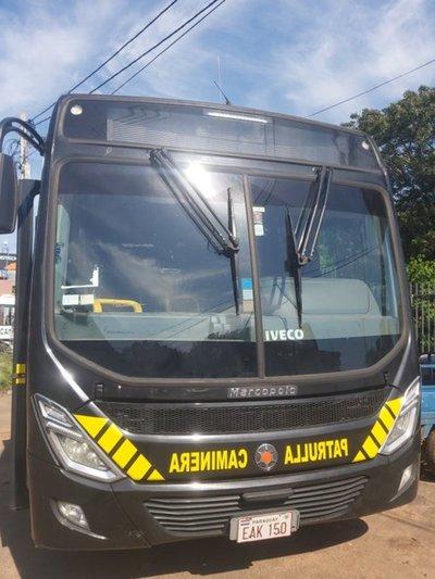 Este será el itinerario de los buses de la Patrulla Caminera para el traslado de la ciudadanía