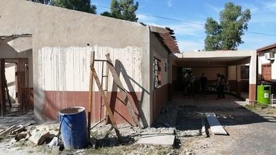 Avanza obra de refacción en Centro de Salud de Benjamín Aceval