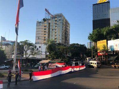 CDE: cierran ruta PY02 en protesta contra Abdo Benítez