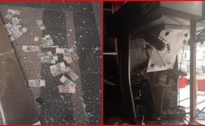 Explotan y roban dos cajeros automáticos dentro de un supermercado