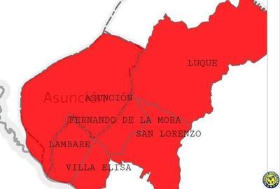 """Covid-19: Luque, en """"zona roja"""", se declara por segunda vez en emergencia sanitaria •"""