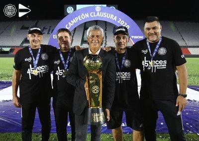 """Vicente Amarilla sobre la salida de Gorosito: """"Debemos entender que sacamos un técnico que salió campeón"""""""