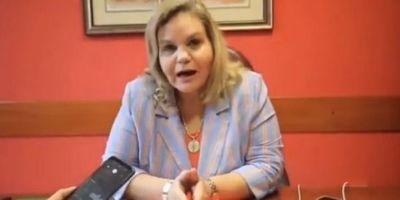 Senadora anuncia que presentará acciones legales contra Edilberto Rivarola
