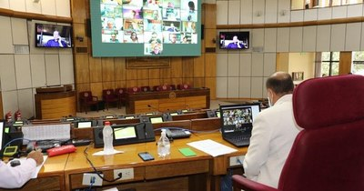 La Nación / Contrataciones Públicas autoriza millonaria licitación para sesiones virtuales del Senado