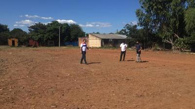Secretaría de Deportes fiscaliza predios para instalar plazas deportivas en Chaco e Itapúa