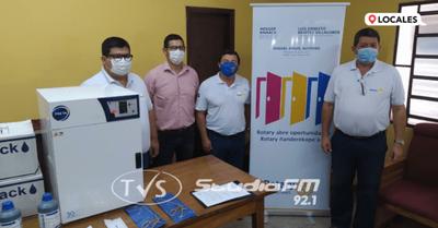 El Rotary Club de Encarnación dona insumos médicos al HRE