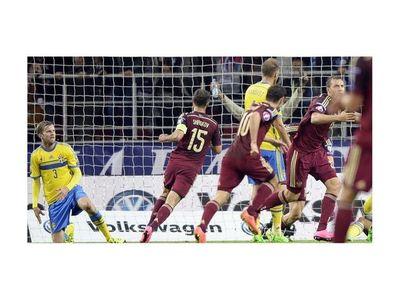 Rusia gana con mérito a Suecia en debut del técnico