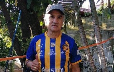 Gilberto Fleitas, un apasionado por el auriazul