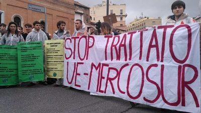 Ambientalistas europeos en campaña contra libre comercio con Mercosur