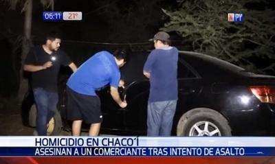 Asesinan a comerciante durante un asalto