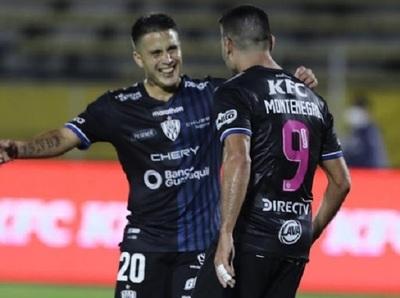 Independiente del Valle logra la victoria con triplete de Montenegro