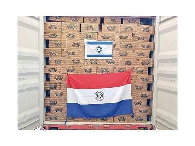Yerbatera local logró concretar su llegada al exigente mercado de Israel