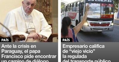 La Nación / Destacados de la mañana del 17 de marzo