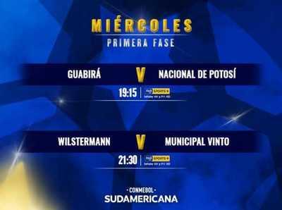 Equipos bolivianos inician su recorrido en la Conmebol Sudamericana