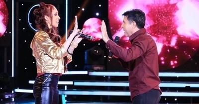 Darío González y Adri Valdez rockearon en el Canta Conmigo