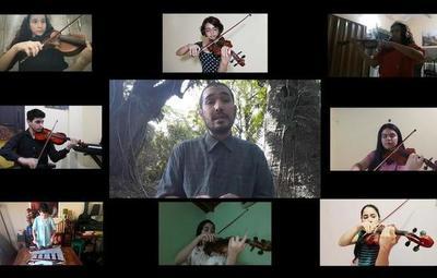"""En medio del escenario crítico, alumnos de música interpretan """"No da lo mismo"""""""