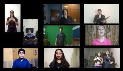 Emotiva versión de alumnos de música de la canción de Berta Rojas y Chirola