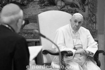 Francisco se mostró preocupado por la situación en Paraguay y pidió que se pueda encontrar un camino de diálogo sincero