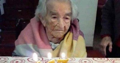 La Nación / Paraguaya de 113 años es la segunda más longeva en vencer al COVID-19 en el mundo