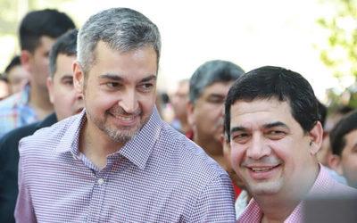 Aplanadora colorada salvó a Mario Abdo y Hugo Velázquez del juicio político
