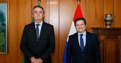 La Nación / Euclides Acevedo se reunió con Bolsonaro