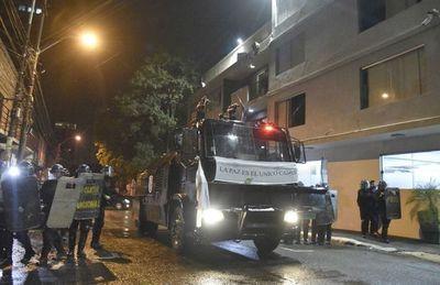 El enojo ciudadano se sintió en Asunción y en el interior