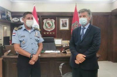 Renunció el Comandante de la Policía, Francisco Resquín
