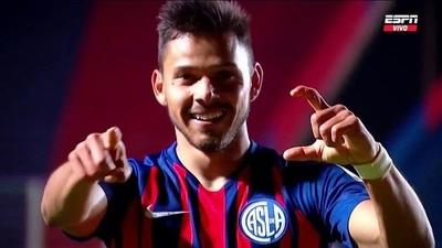 Ángel Romero, se destaca en la clasificación de San Lorenzo